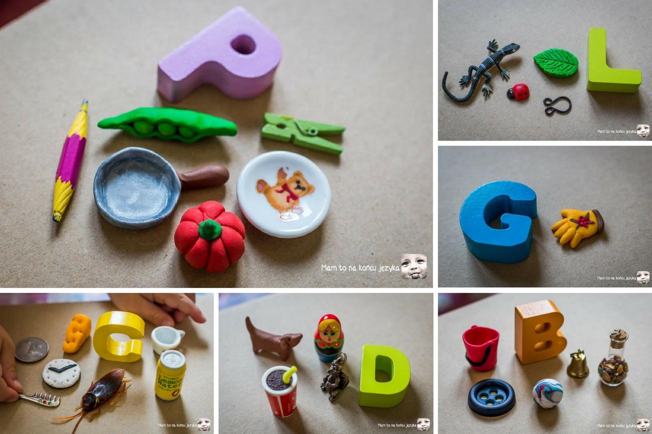 DIY Alfabet Przedmiotów - 1 zabawka do 11 zabaw uczących słownictwa i wyrabiających słuch (bez ograniczeń wiekowych)