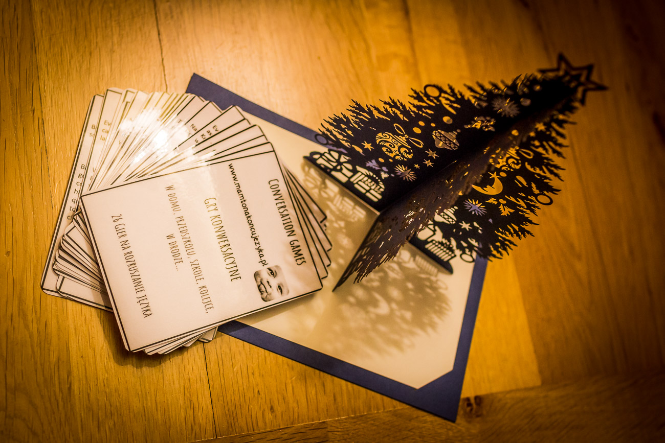 Prezent dla Was - karty do 26 gier słownych (26 printable conversation games)