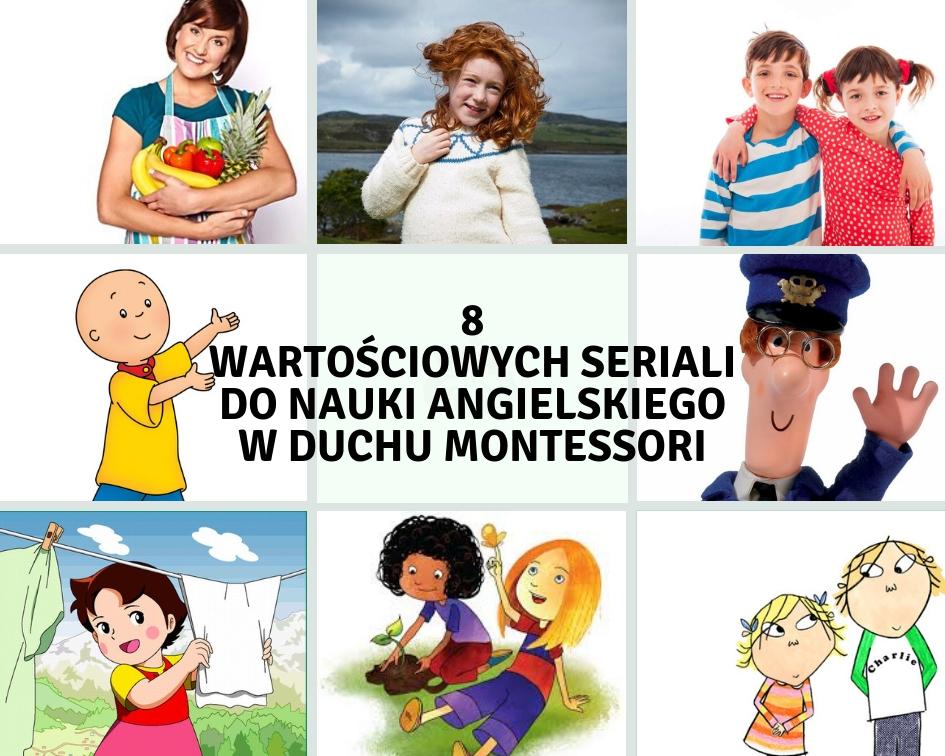 Selekcja wartościowych filmów dostępnych na YouTube do nauki angielskiego (8 serii Montessori-friendly)