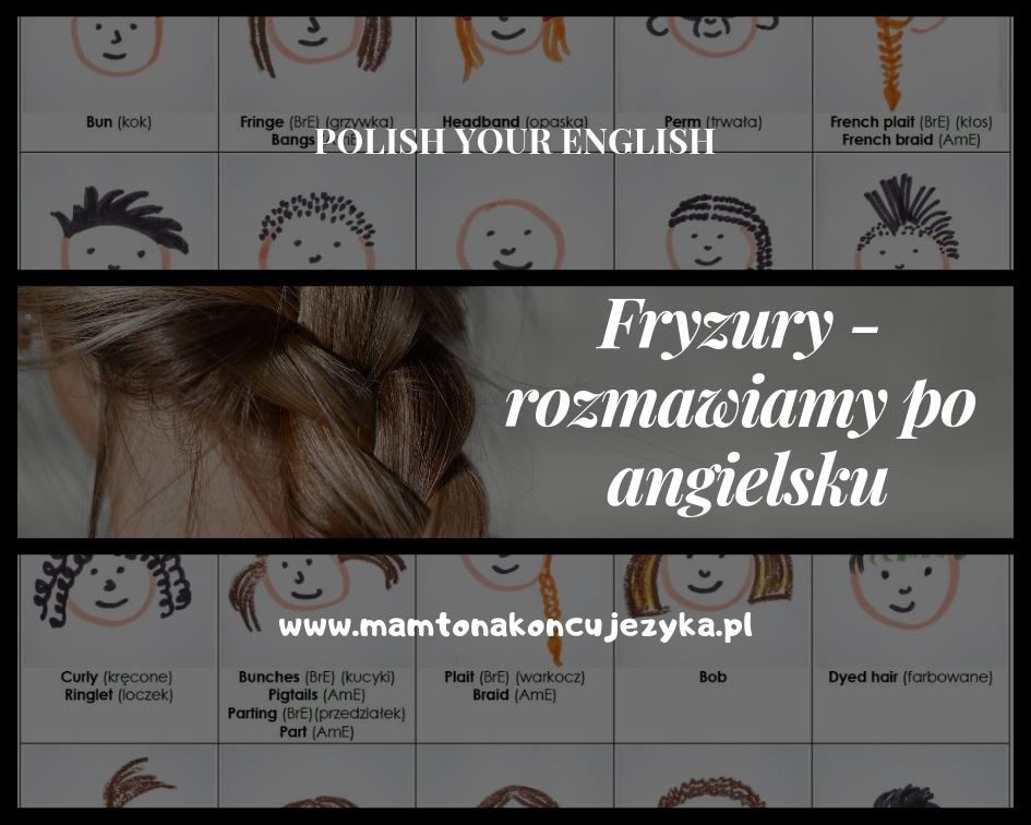 [do druku] Fryzury i wygląd - jak to powiedzieć po angielsku?