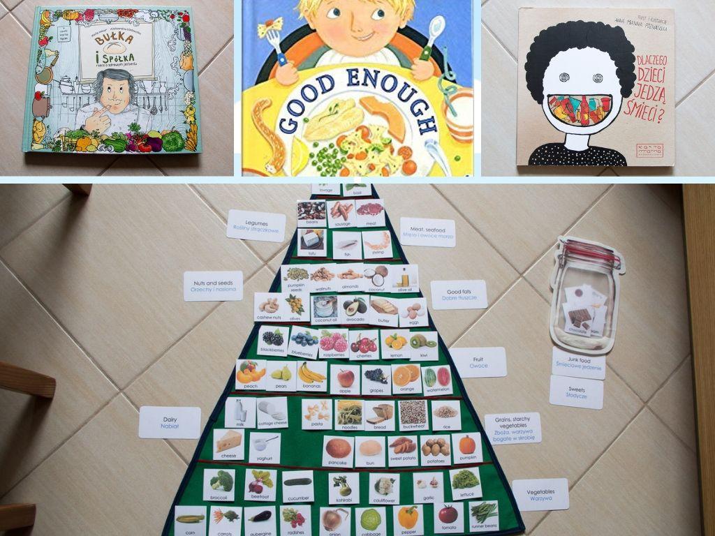 Zdrowe odżywianie - jak ugryźć temat (po polsku i angielsku + pomoc Montessori do pobrania)