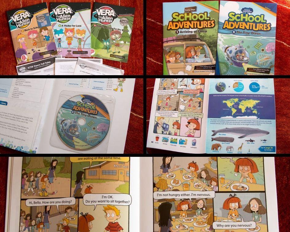 Komiksy do nauki angielskiego - z nagraniami