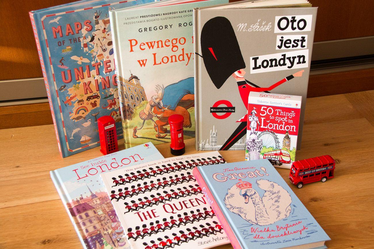 W 7 książek dookoła Wielkiej Brytanii i Londynu