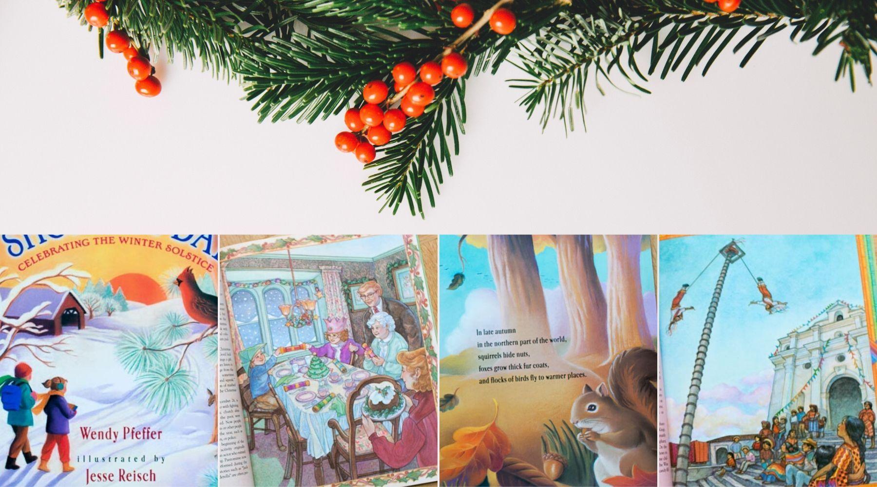 Świąteczne książki (faktu, historyczne, laickie, Montessori-friendly)