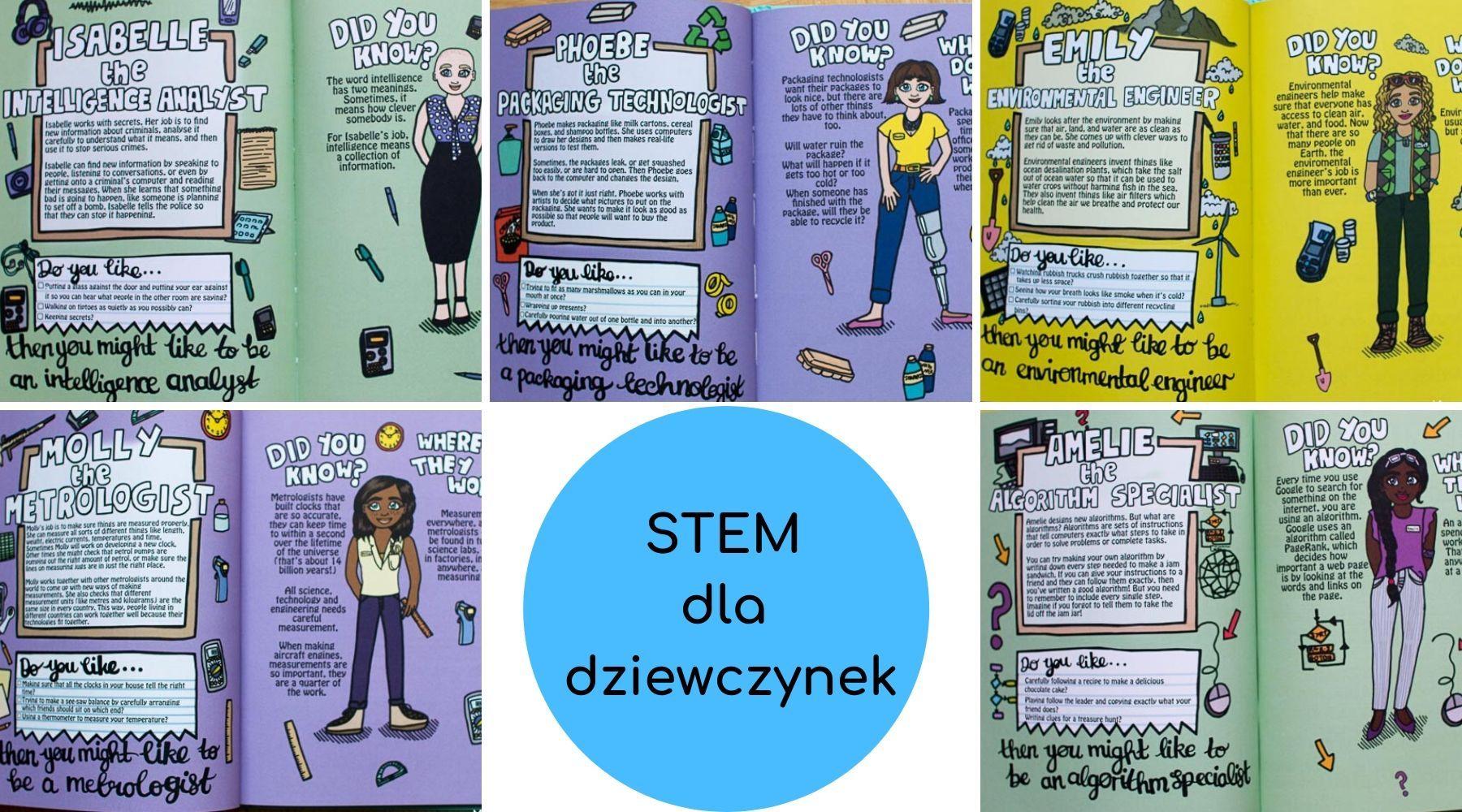 Niebieski brokuł: książka ukazująca, że dziewczynki i nauki techniczne idą w parze