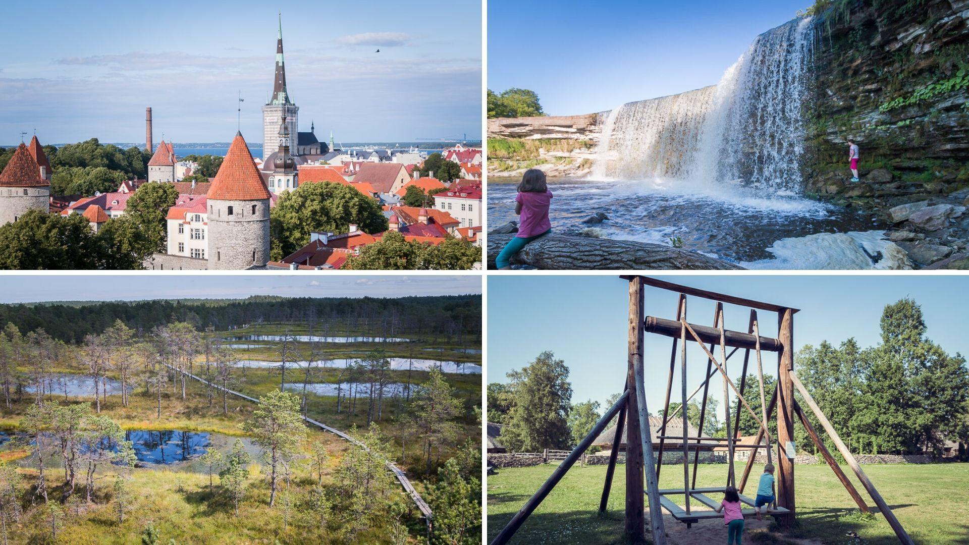 Estonia - Tallin, Tartu, Viljandi i miasteczko widmo na Litwie