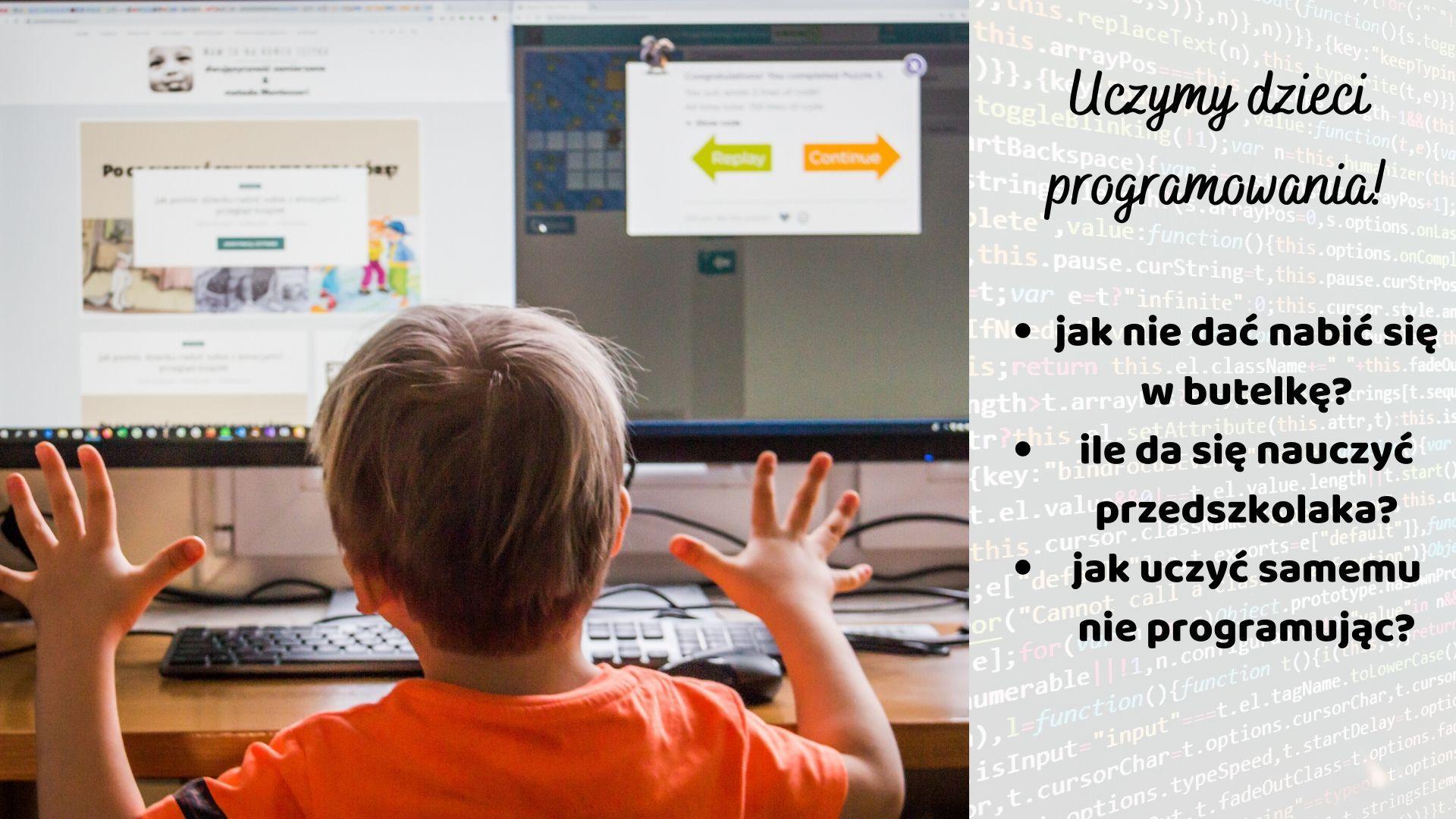 Jak nauczyć dziecko programować? Co ma nauka programowania do nauki języków?