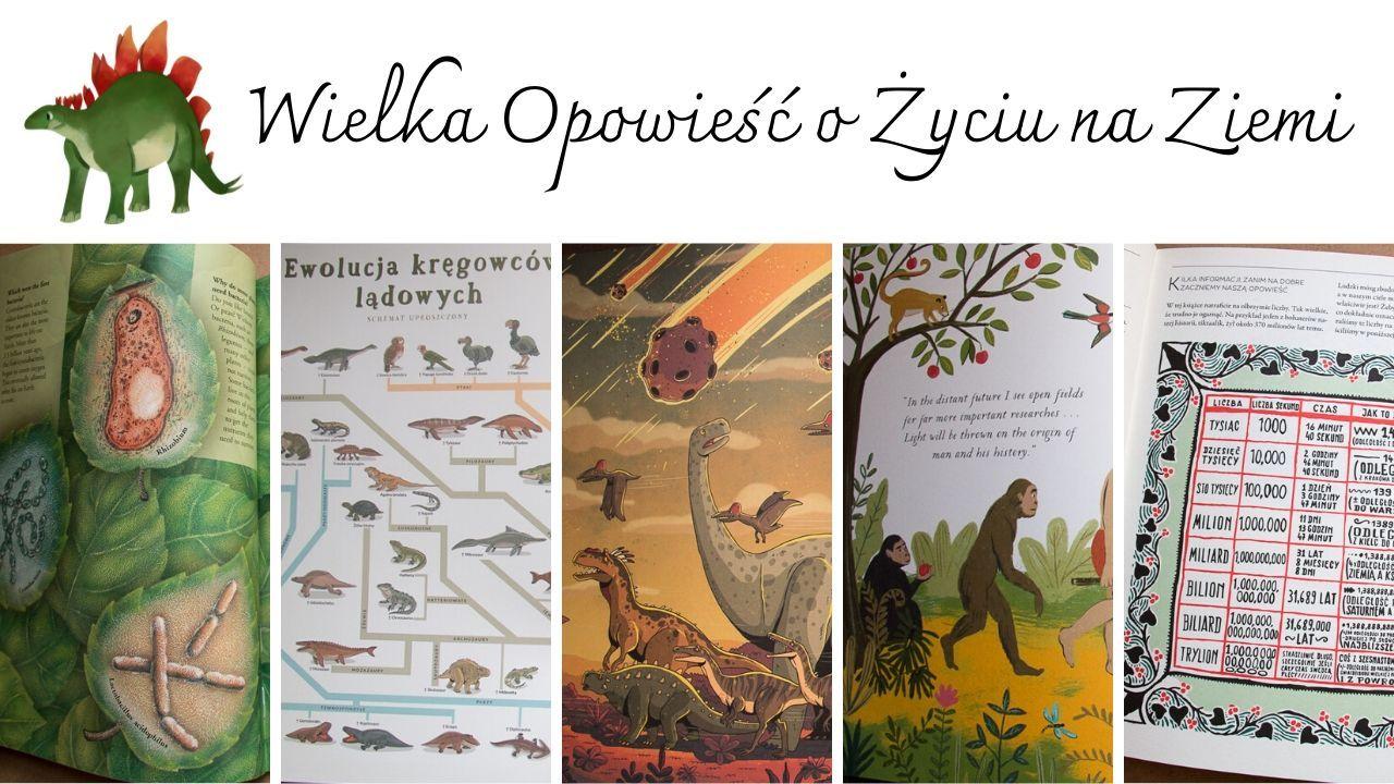 Książki o ewolucji dla dzieci, literatura do Wielkich Lekcji