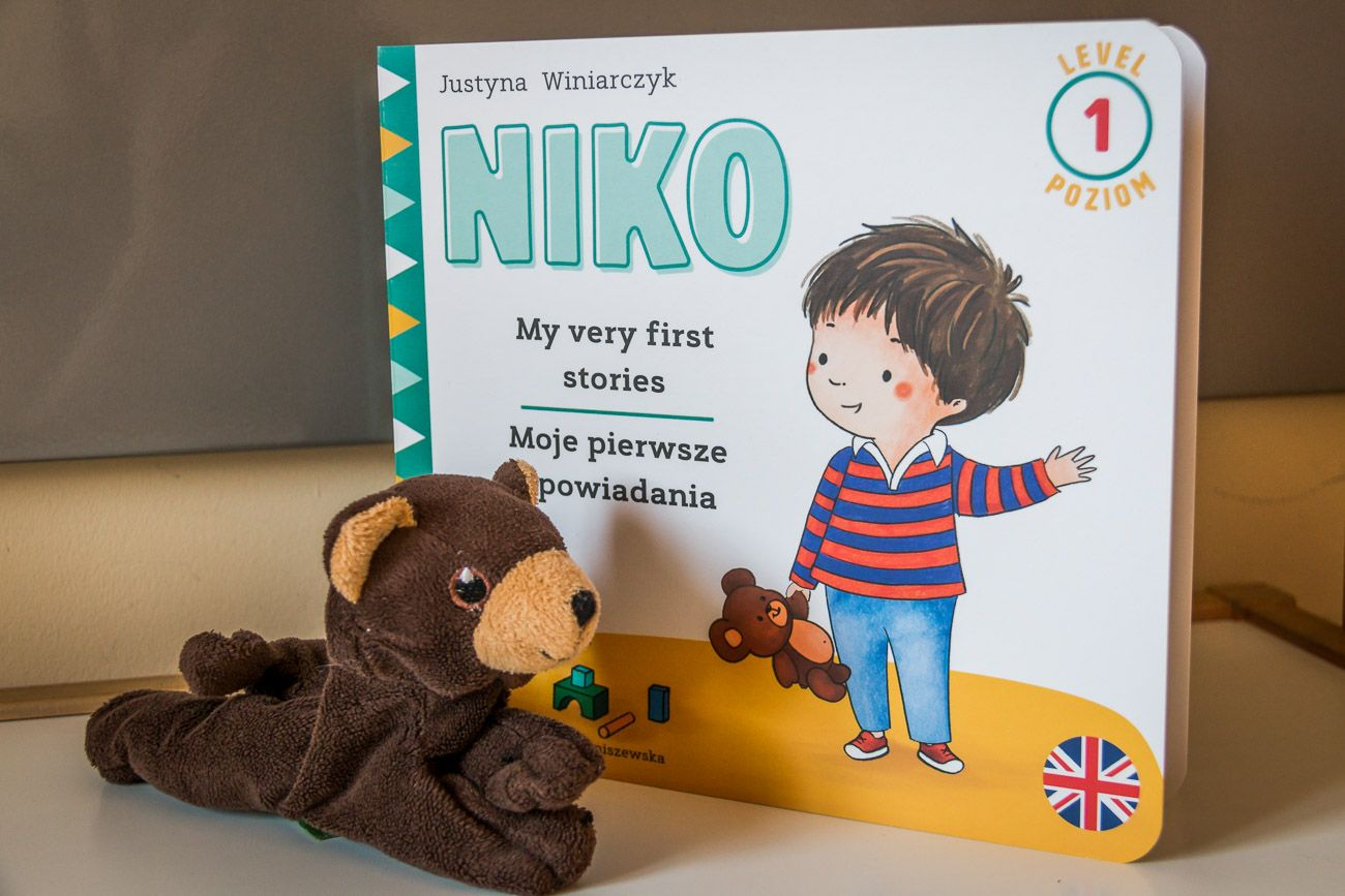 Niko - książeczka, która została stworzona dla dzieci dwujęzycznych