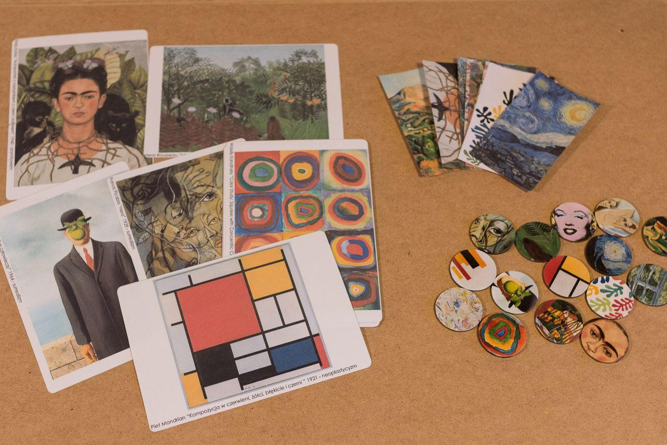 Wycieczka przez style malarstwa, Monety z dziełami sztuki - do pobrania
