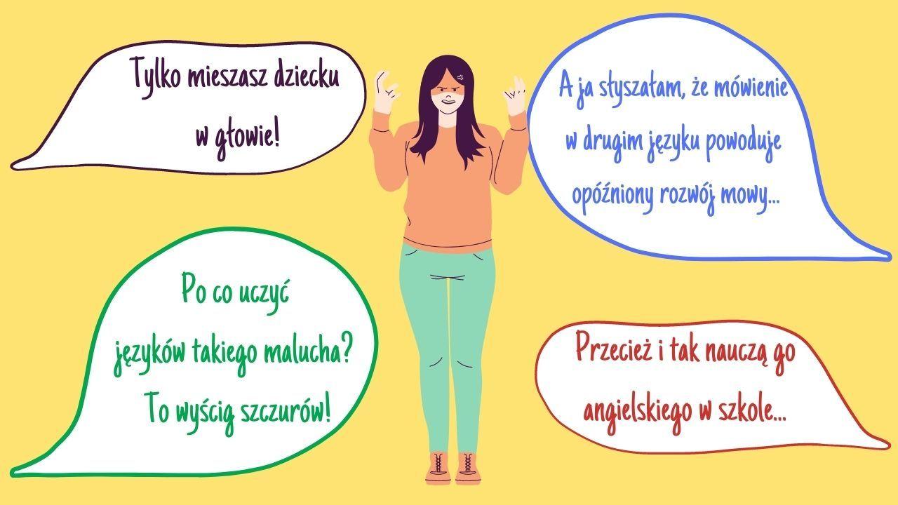 Rodzina i znajomi nieprzychylnie patrzą na dwujęzyczność. Wiesz czemu ich nie przekonasz?